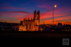 Newry-Cathedral-Sunset