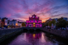 Newry-Town-Hall-Sunset